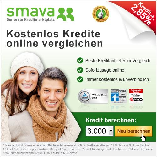 Kredite online vergleichen